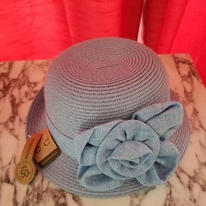 Accessories - Light blue bucket hat